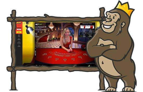 Livekasino ja pelit Rizk Casinolla