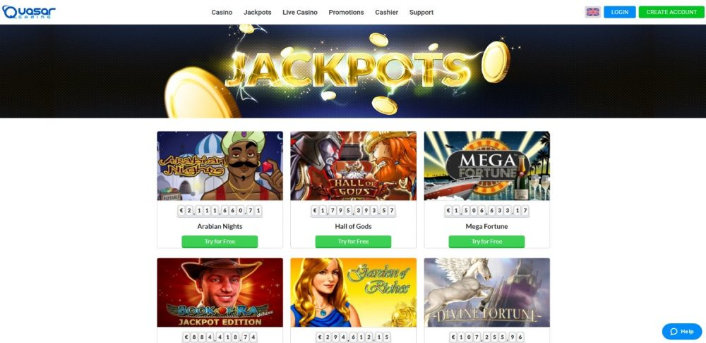 Quasar Gaming Casino Review - One Of The Best Novomatic Casinos