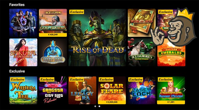 BWin casino slot games