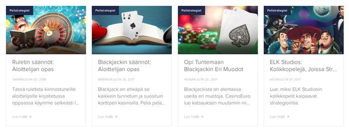 CasinoEuro blogi