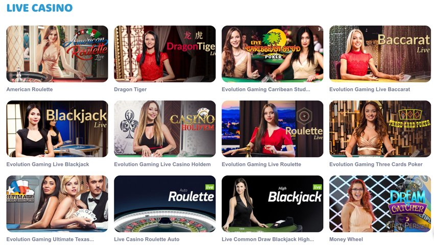 Casinoroom live games