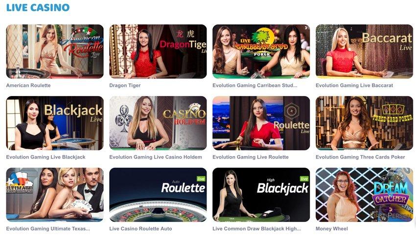 Casinoroom live games