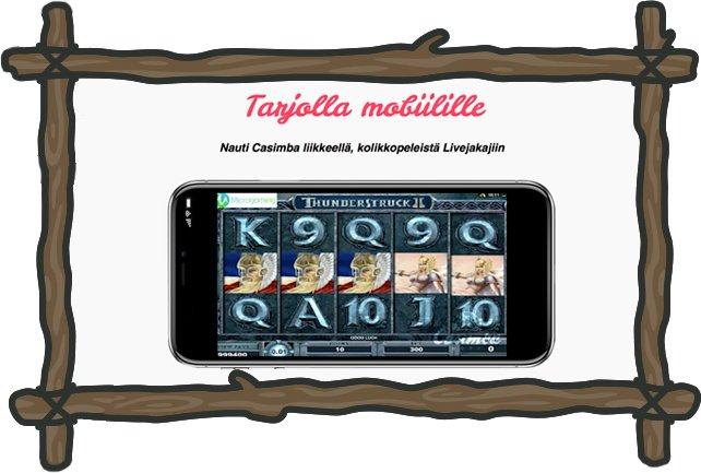 Mobiilipelejä Casimballa