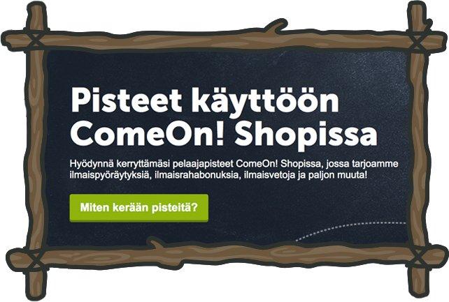 common Shop ja uskollisuuspisteet