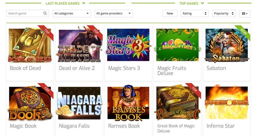 Lapalingo casino slot games