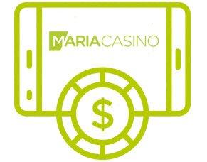Mobiilipelit Maria Casinolla