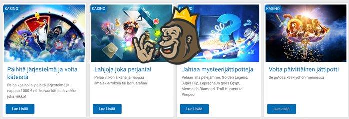 NordicBet -kampanjoita