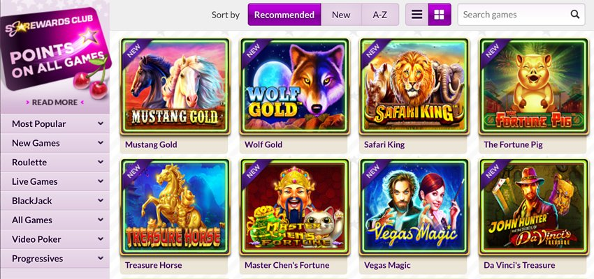 Slotjoint casino slot games and categories
