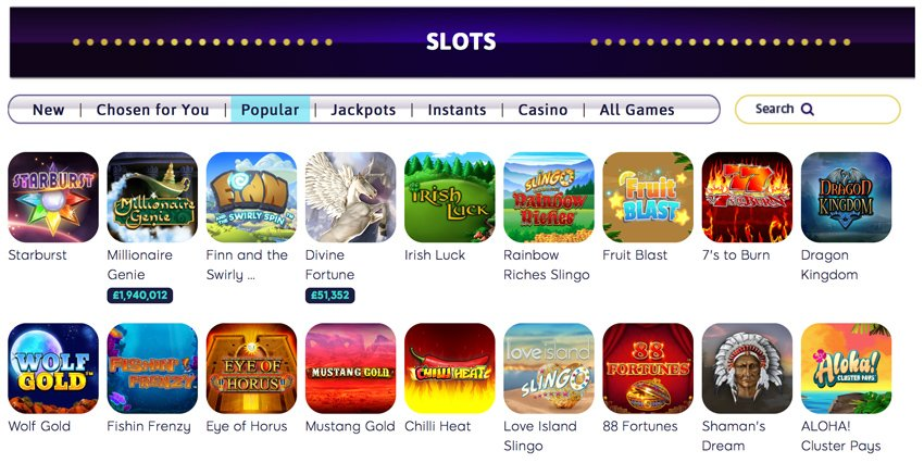 Wink Slots casino slot games