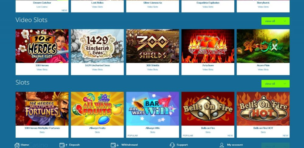 casino online coupon 2019