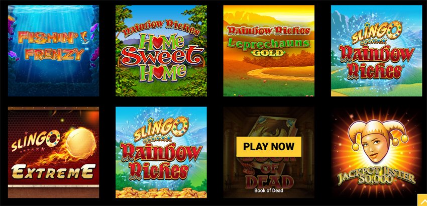Mega Casino slot games