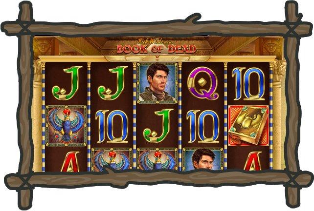 Vinneri kasinon kolikkopelit ja Book of Dead