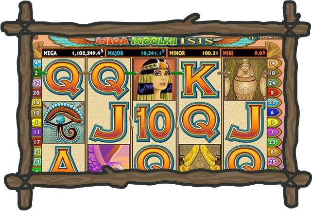 Wild Jackpots Mega Moolah Isis-jackpot