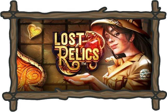 Lost Relics kolikkopeli