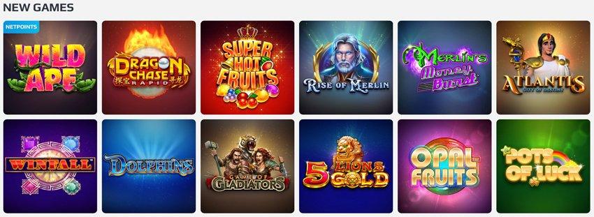 New games on Netbet casino