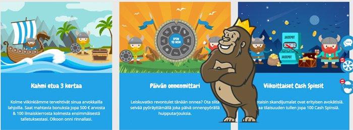 Nordicasino kampanjoita