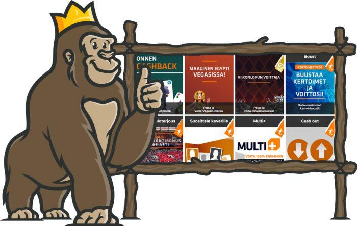 Expekt Casino kampanjat