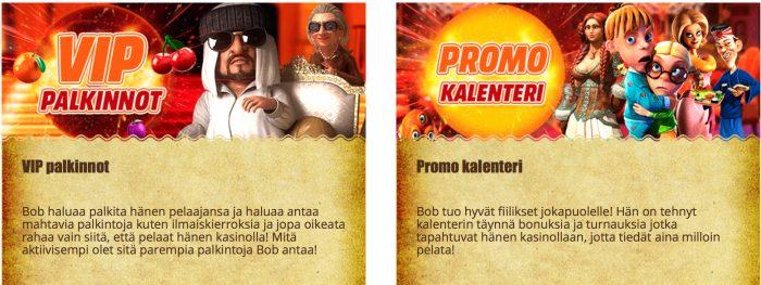 Kampanjat ja VIP-ohjelma