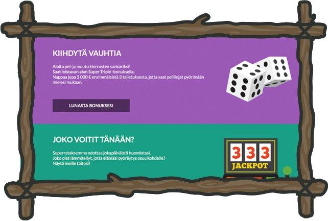 Casino Superlines kampanjoita