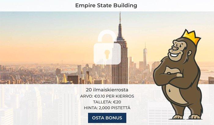 NY Spins casinon kauppatori