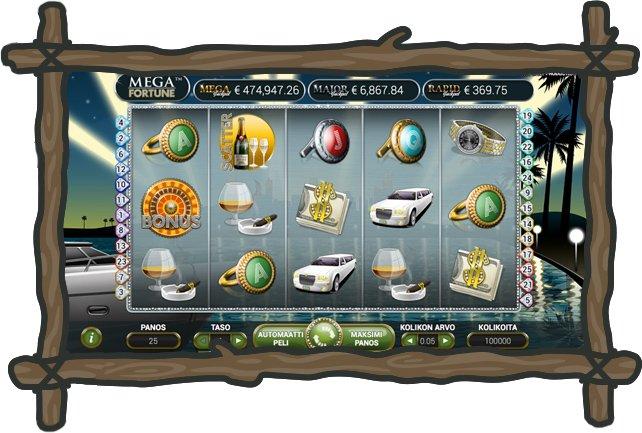 NYspins kasinon Mega Fortune