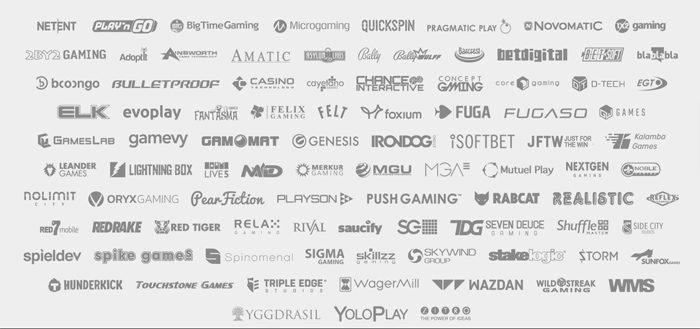 SlotsMillion pelivalmistajat