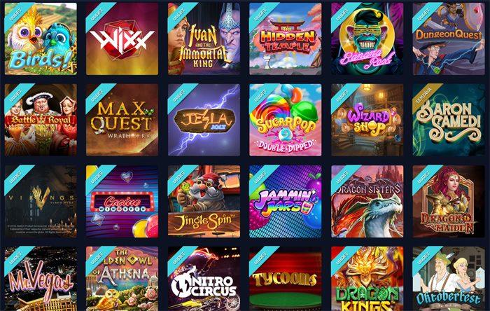 Vegas Casinon uudet pelit