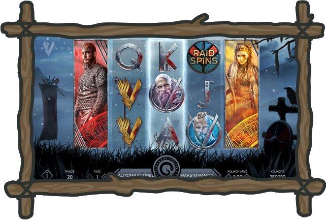 SpinStation -kasinon Vikings -kolikkopeli