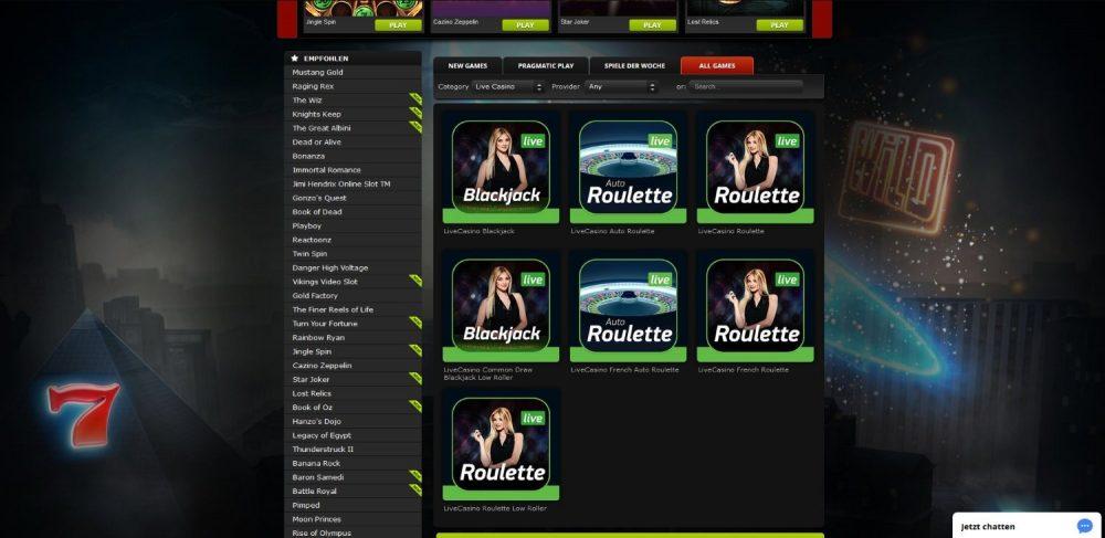 betat casino live dealer spiele