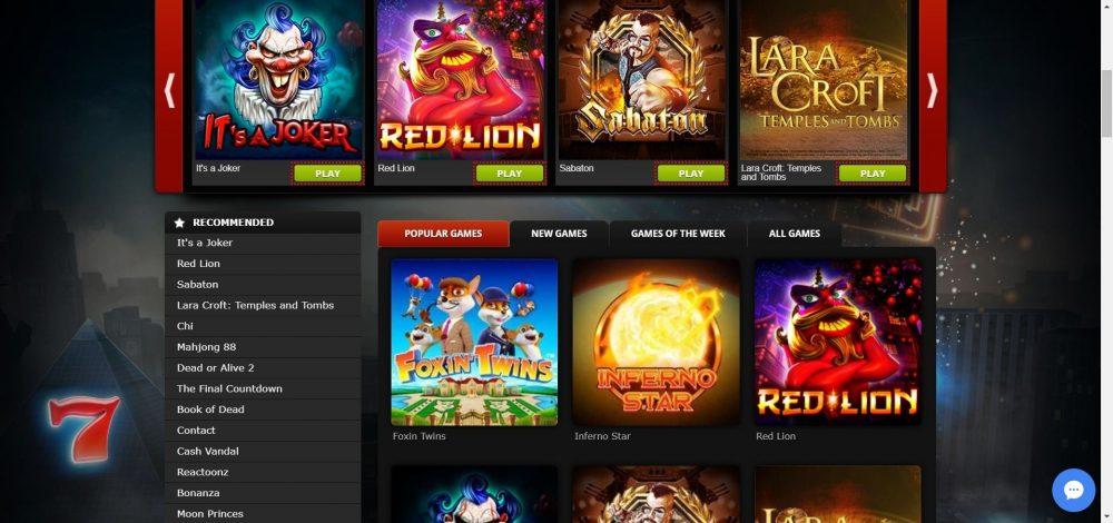 betat casino slots