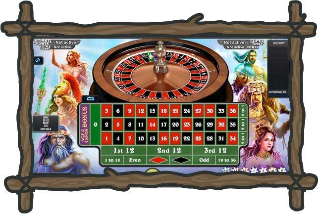 BGO Casino Age of the Gods -ruletti
