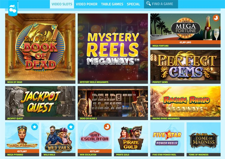 Casino Jefe slot games