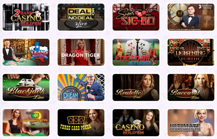 Fruity Casa live casino games