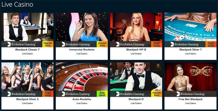 Fun Casino live games