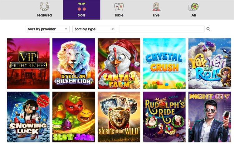 Gale & Martin casino slot games