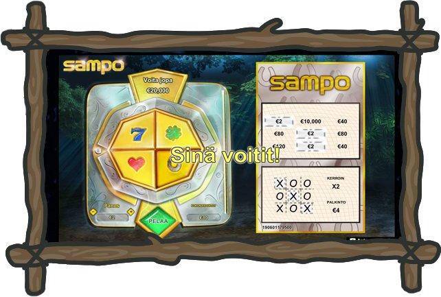 Goliath casino pelit ja Sampo-arpa