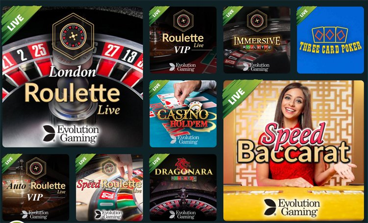 Ikibu live casino games