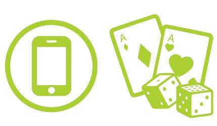 Kasinon mobiilipelejä