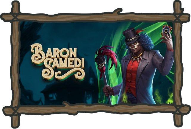PlayOJO Casinon Baron Samedi-kolikkopeli