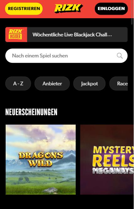 rizk casino erfahrungen mobiles casino