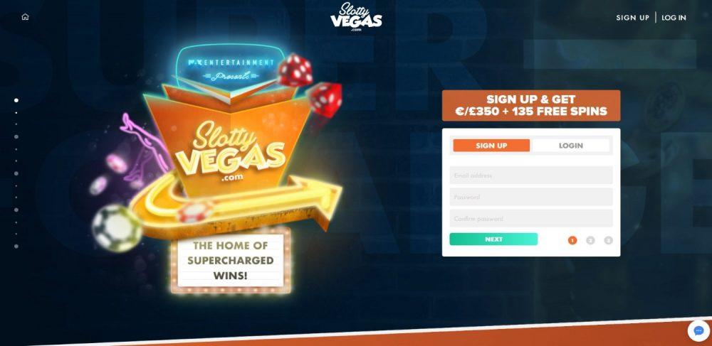 Slotty Vegas Casino Review - A SuperCharged Casino