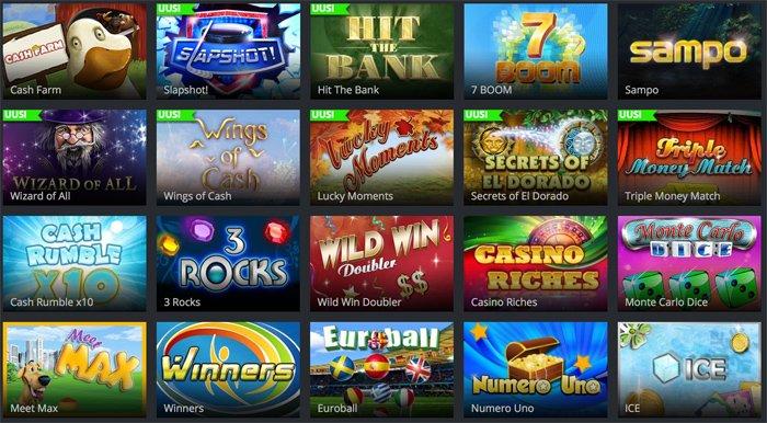 Jaak Casinon NeoGamesin raaputusarpoja