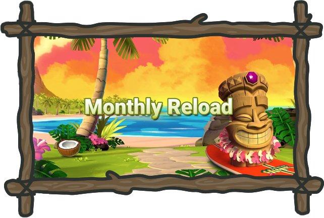 Kampanjat ja kuukauden reload