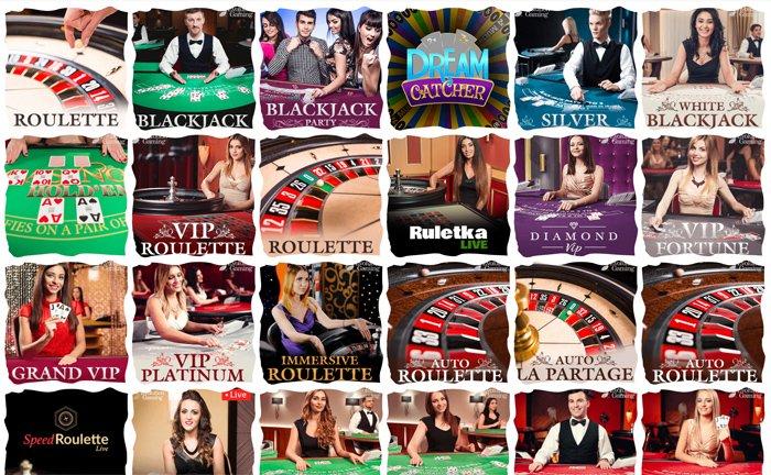 Loki Casinon livepelivalikoimaa