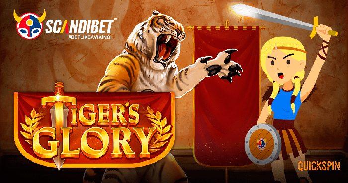 Scandibet pelivalikoima ja Tiger's Glory
