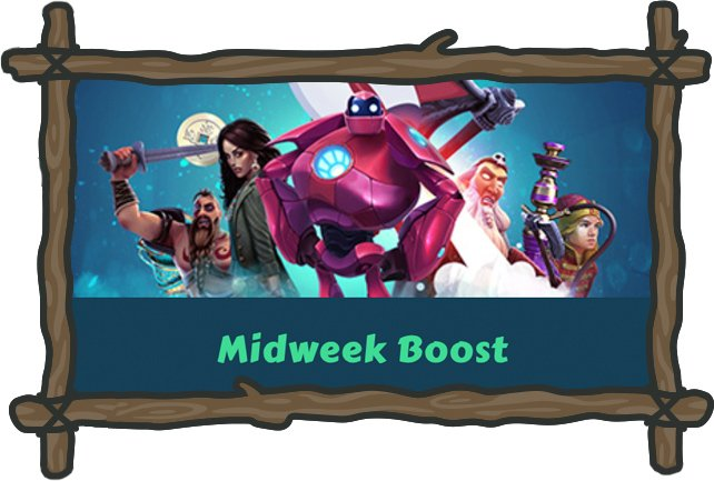 MyChance Casinon kampanja Midweek Boost