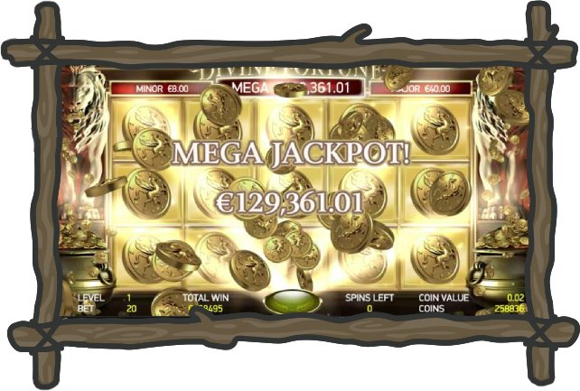 online slots divine fortune
