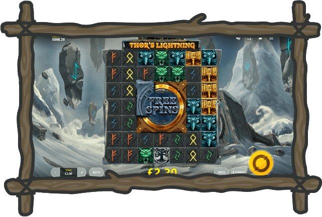 online slots thors lightning