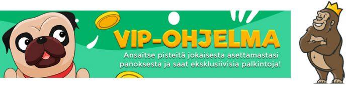 SlotJerry kasinon kampanjat ja VIP-edut