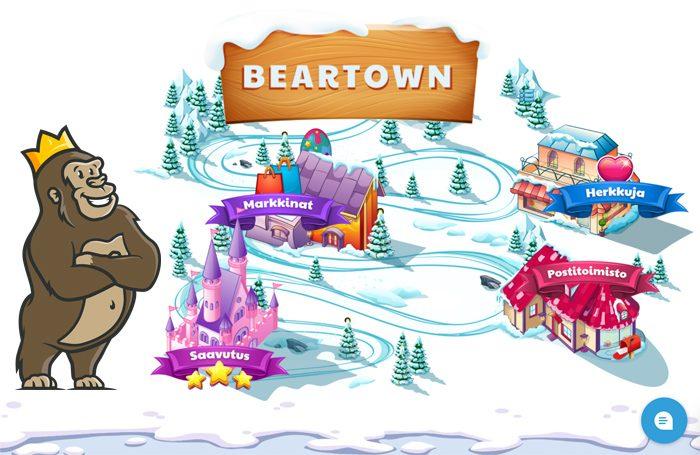 Beartown ominaisuudet Ridika kasinolla